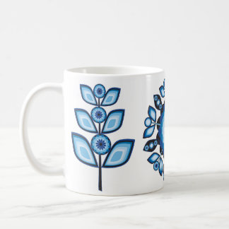 Retro 70 s Gypsy Garden Mug