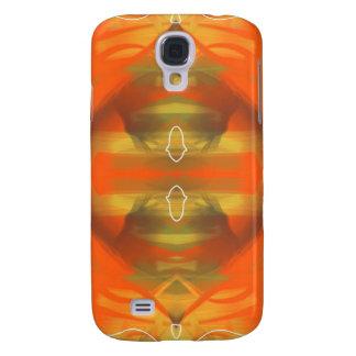 Retro 70s Orange Galaxy S4 Case