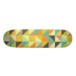 Retro 70s Pattern Skateboard Deck