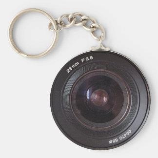 Retro 80s Camera Lens On A Keyring Key Chains