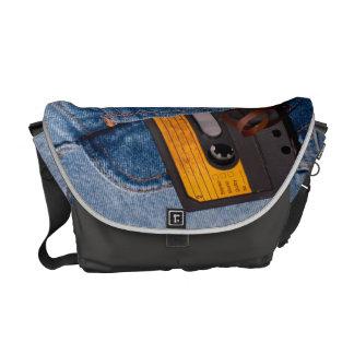 Retro 80's Design Courier Bag