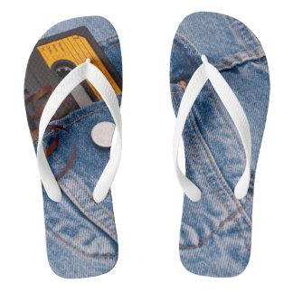 Retro 80's Design Flip Flops