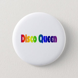 Retro 80's | Disco Queen 80s 6 Cm Round Badge