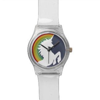 Retro 80's Rainbow and Unicorn May 28th Watch