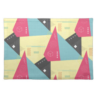 Retro 80's Style Placemats