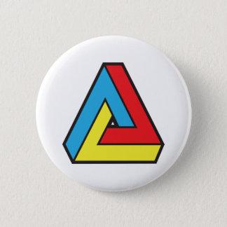 Retro Abstract 6 Cm Round Badge