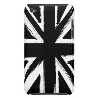 Retro abstract black union jack design barely there iPod case