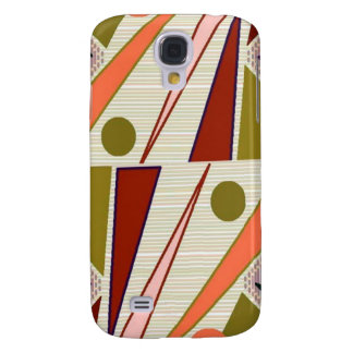 Retro abstract samsung galaxy s4 covers