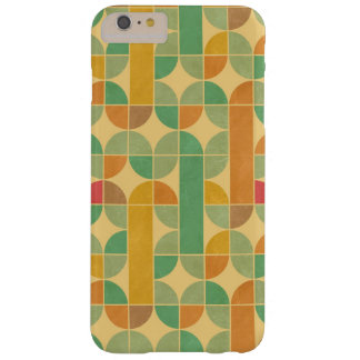 Retro abstract pattern barely there iPhone 6 plus case