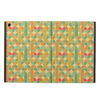 Retro abstract pattern iPad air cover