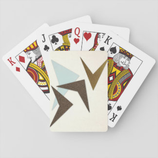 Retro Abstract Pattern Playing Cards