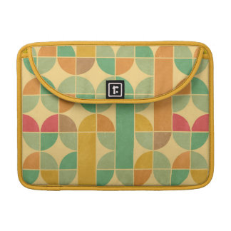 Retro abstract pattern sleeve for MacBook pro