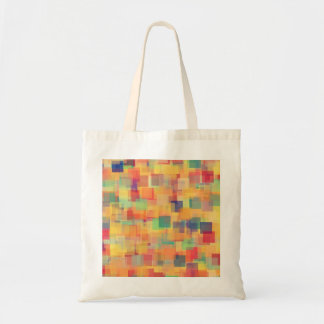 Retro Abstract Rainbow Art Design Canvas Bags