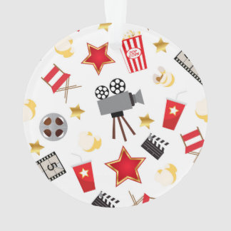Retro Acting Movies Theatre/Theater Ornament