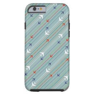 Retro Airplane Pattern iPhone 6/6s Case