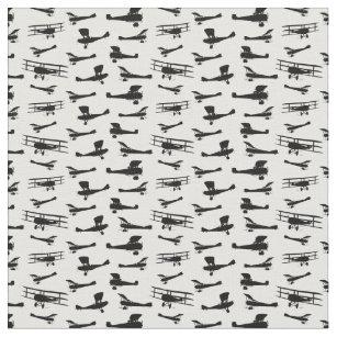 Vintage Airplane Fabric | Zazzle.co.uk