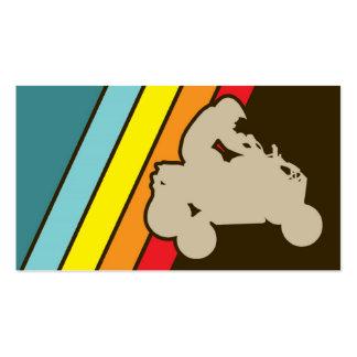 retro all-terrain vehicles business card