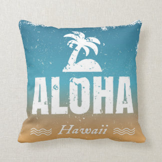 Retro Aloha Hawaii Cushion