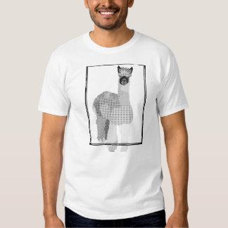 Retro Alpaca Art T-shirt