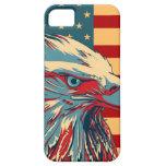 Retro American Patriotic Eagle Flag iPhone 5 Cases