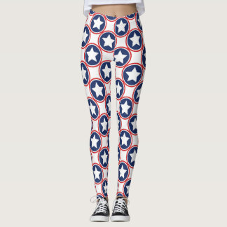 Retro Americana leggings