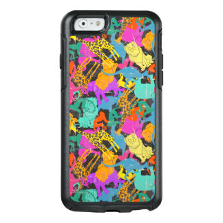 Retro Animal Silhouettes Pattern OtterBox iPhone 6/6s Case