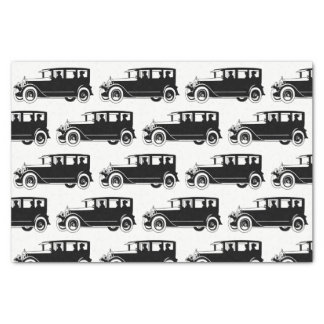 Retro Antique Vintage Classic Car Tissue Paper