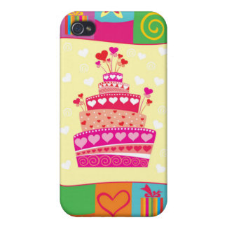 Retro Any Occasion Party Pattern iPhone 4 Cover