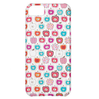 Retro apple pattern fruit iphone case cover for iPhone 5C