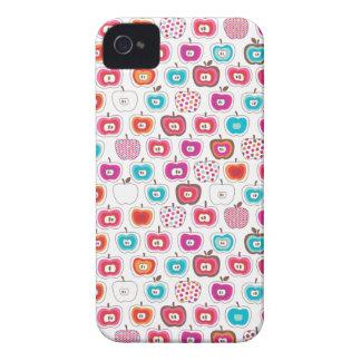 Retro apple pattern fruit iphone case