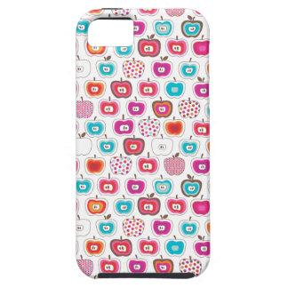 Retro apple pattern fruit iphone case tough iPhone 5 case