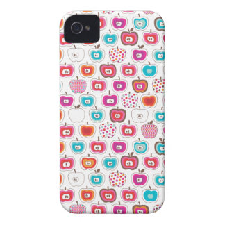 Retro apple pattern fruit iphone case Case-Mate iPhone 4 case