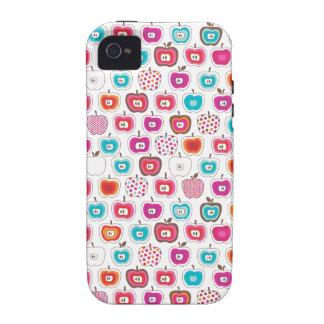 Retro apple pattern fruit iphone case iPhone 4/4S cases