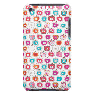 Retro apple pattern fruit ipod case Case-Mate iPod touch case