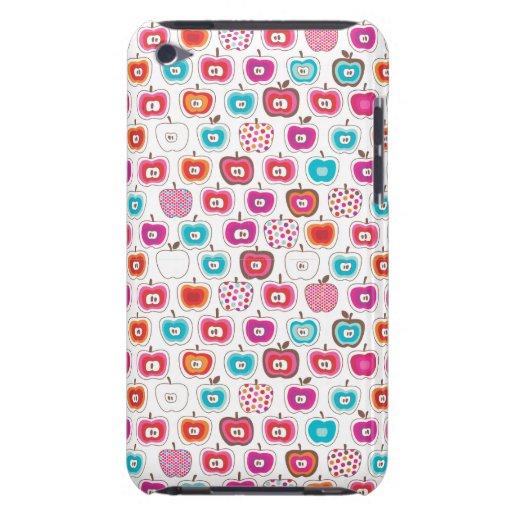 Retro apple pattern fruit ipod case Case-Mate iPod touch case