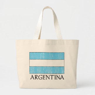 Retro Argentina Flag Bag