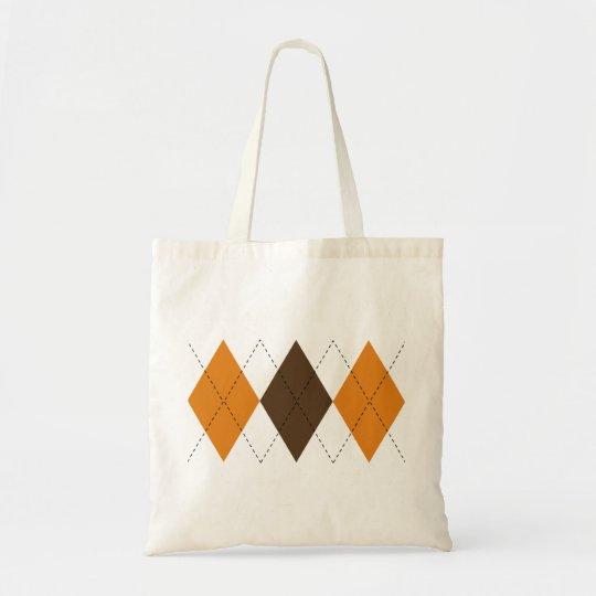 Retro Argyle Bag