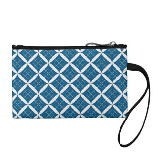 Retro Argyle Diamond Clutch