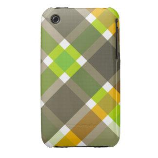 Retro Argyle iPhone Case iPhone 3 Case-Mate Cases