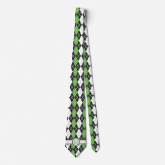 Retro Argyle Men's Neck Tie