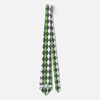 Retro Argyle Men's Neck Tie