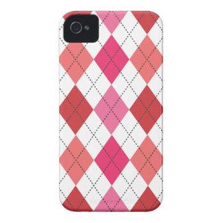 Retro Argyle Trendy Multi Case-Mate iPhone 4 Cases