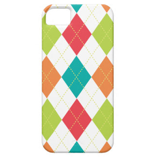 Retro Argyle Trendy Multi iPhone 5 Covers