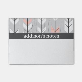 Retro Arrows Post-it Notes