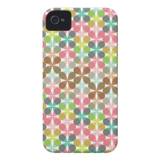 Retro Art Abstract Mod Pattern iPhone 4 CaseMate iPhone 4 Cover