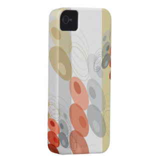 Retro Art Abstract Mod Pattern iPhone 4 CaseMate iPhone 4 Case-Mate Cases