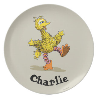 Retro Art Big Bird  | Add Your Name Plate