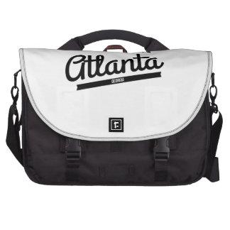 Retro Atlanta Logo Laptop Commuter Bag