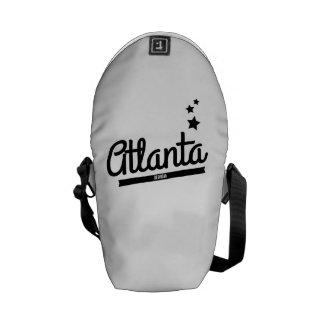 Retro Atlanta Logo Messenger Bag