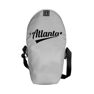 Retro Atlanta Logo Courier Bag